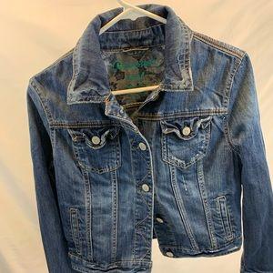 Cute Jean Jacket:  size medium